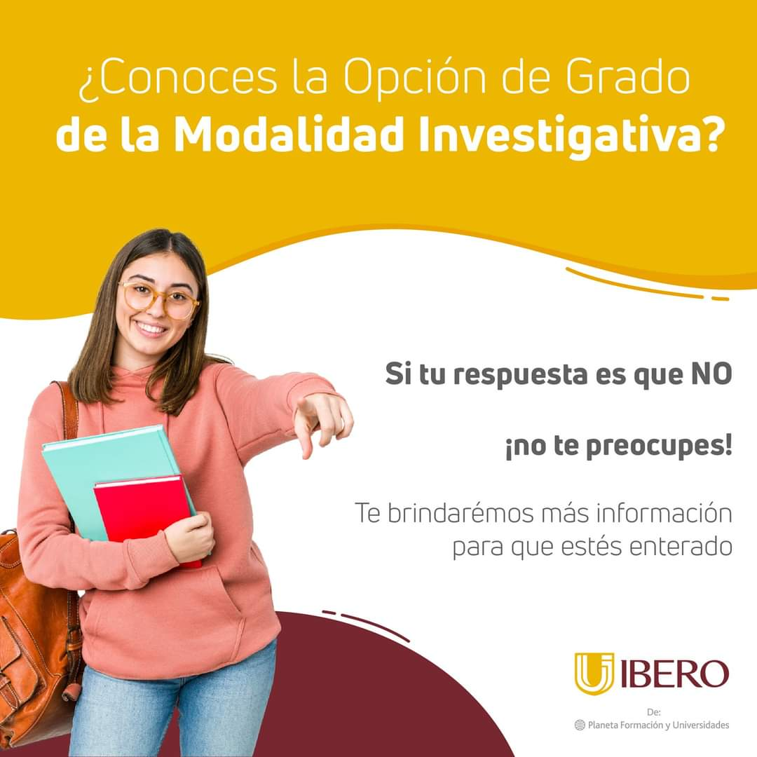 Opciones de Grado - Ibero